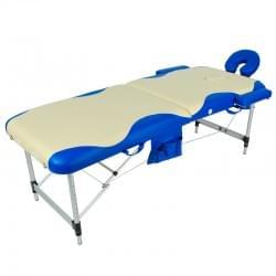 Массажный стол складной алюминиевый с волной JFAL01A (МСТ-002Л)